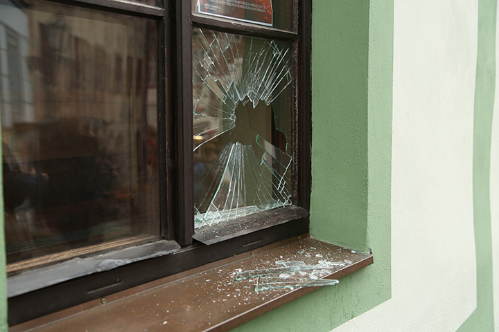 A2B Glass are able to board up broken windows while they are being repaired in Battersea.
